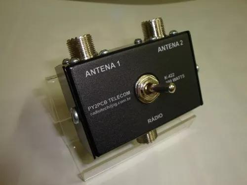 Chave antena k-422 hf vhf uhf radio amador px py py2pcb