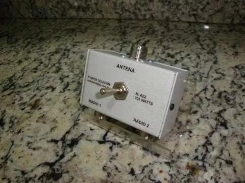 Chave antena k-422-i hf vhf uhf radio amador px py py2pcb