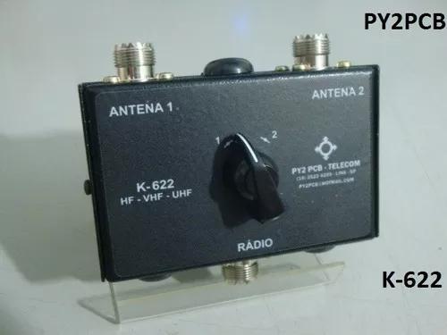 Chave antena k-622 hf vhf uhf radio amador px py py2pcb