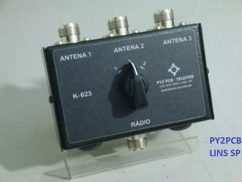 Chave antena k-623 hf vhf uhf radio amador px py py2pcb