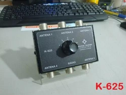 Chave antena k-625 hf vhf uhf radio amador px py py2pcb