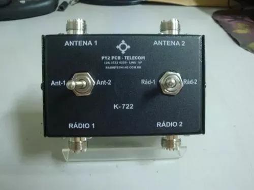 Chave antena k-722 hf vhf uhf radio amador px py py2pcb