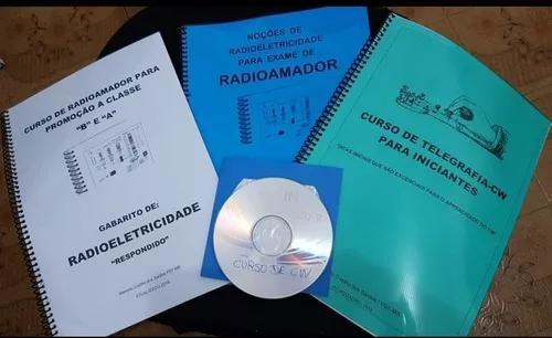 Curso completo classe b radio amador yaesu kenwod icom cobra