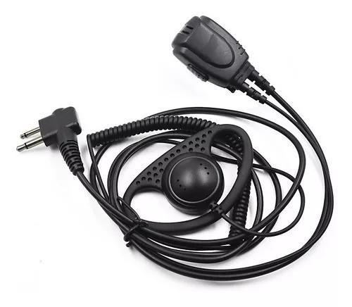 Fone profissional ptt de lapela para motorola dep450 digital