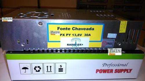 Fonte 13,8v 30 amperes radio amador px py ht uhf vhf gm300