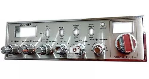 Frente, painel, radio px, vr 95 plus, completa. com botões