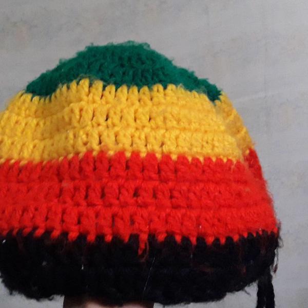 Gorro reggae de crochê