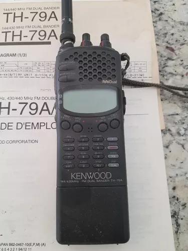 Kenwood th-79a - rádio amador portátil - não liga