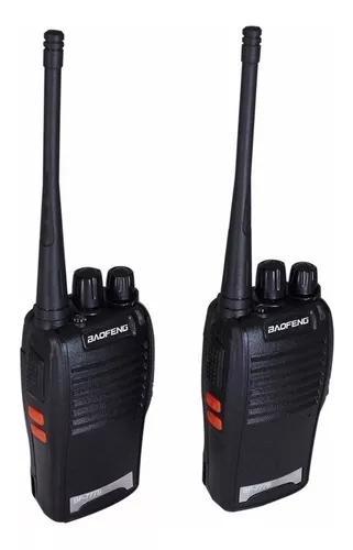 Kit 15 rádio comunicador walk talk baofeng 777s+ fone
