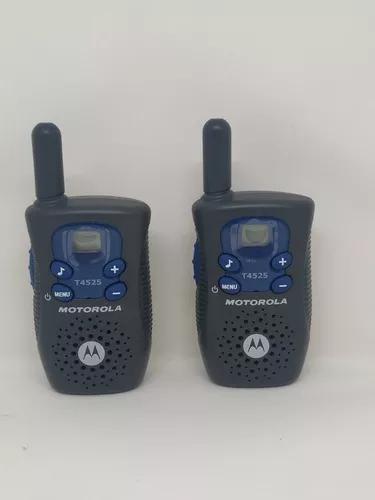 Kit 2 radio comunicador talkabout motorola t4525 p/ entrega