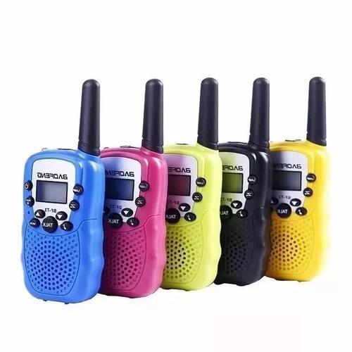 Kit 2 rádio walk talk comunicado baofeng bf t3 longo