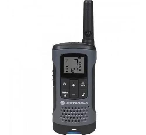 Kit 22un radio comunicador talkabout t200br cinza motorola