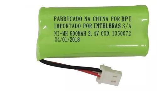 Kit 3 baterias telefone s/fio ts40 ts60 ts3110 - intelbras