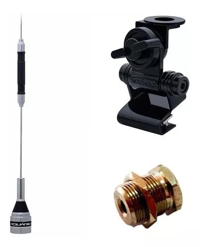 Kit antena px b-2050 + suporte porta malas + parafuso fixar