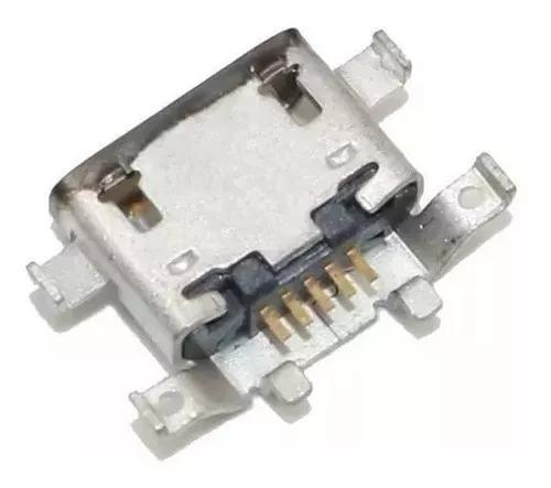 Kit C/10 Conector De Carga Dock Moto G4 Plus Xt1640 Xt1641