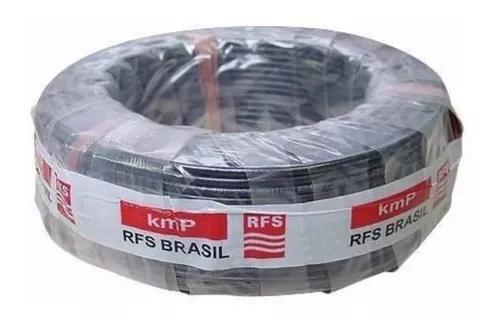 Kit cabo coaxial px radio amador rfs kmp rg58 96%malha 15m
