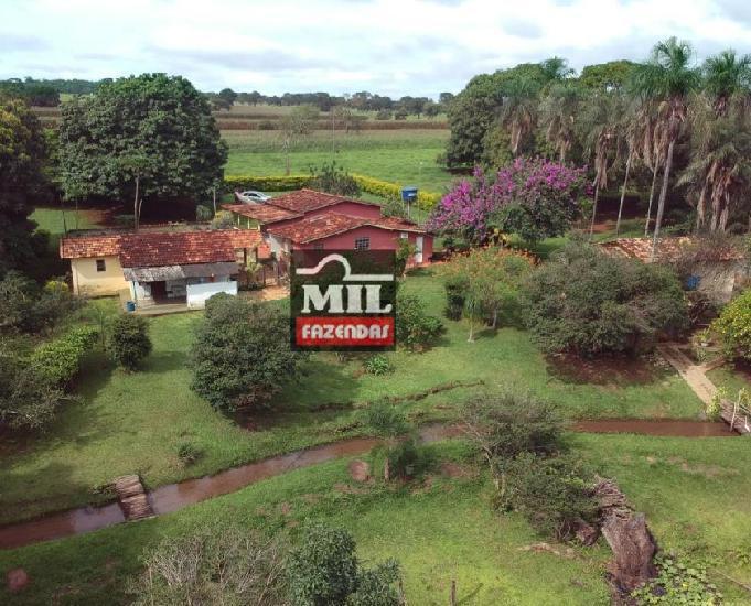 Linda chácara 1.65 alqueires (8 hectares) bela vista