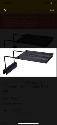 Luminária led nemo light plantado 18w