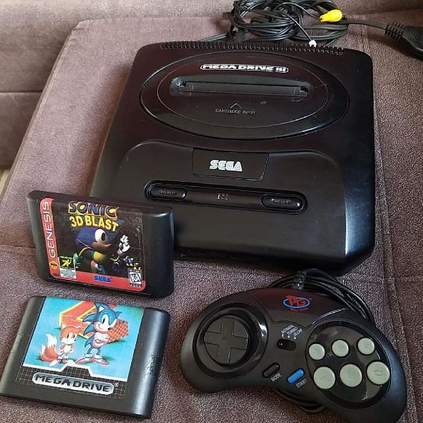 Mega drive iii para colecionador