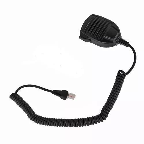 Microfone ptt p/ radio yaesu vertex vx-2200 vx2100 c/nf