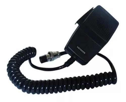 Microfone ptt px original 4 pinos voyager cobra megastar