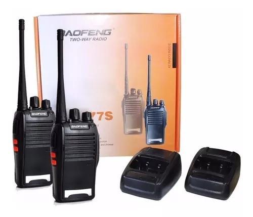 Par de radio comunicador 16 canais profissional e original