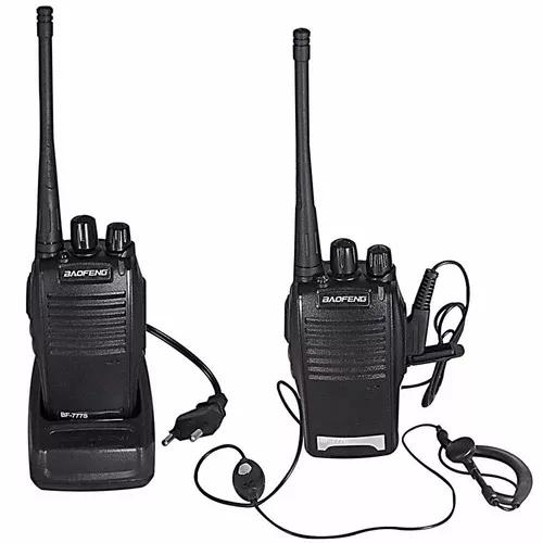 Par radio comunicador walk talk talkabout baofeng 777s 16c