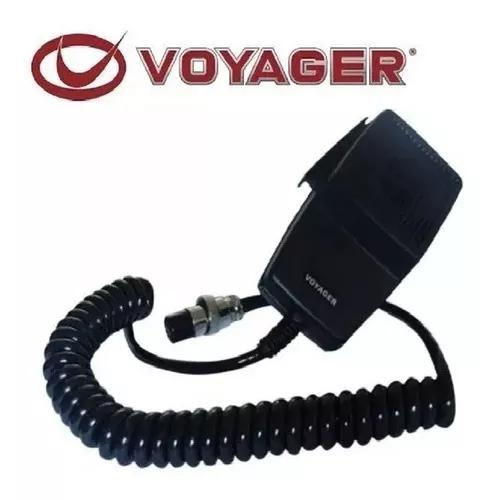 Ptt microfone voyager 4 pinos original voyage px 4 furos