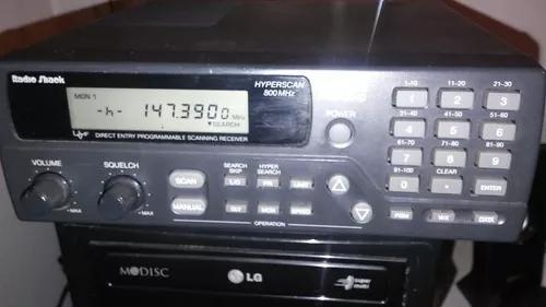 Radio amador scanner pro-2040 escuta aviação
