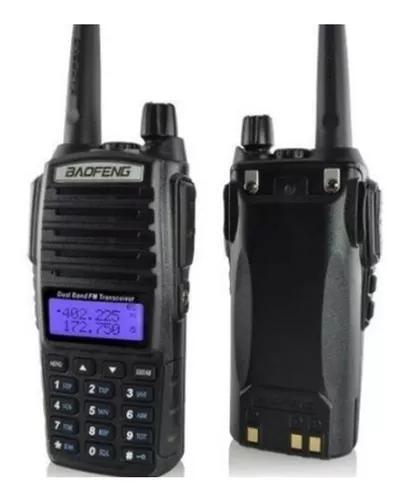 Radio comunicador baofeng uv82 dual band fm walktalk + fone