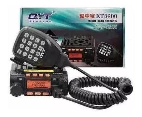 Radio comunicador py amador kt-8900 + ptt s