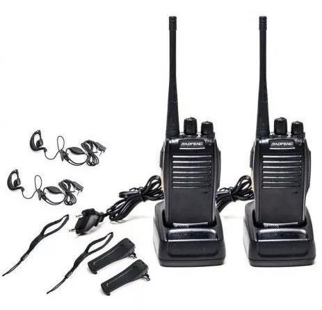 Radio comunicador transmissor walk talk baofeng até 3km nov