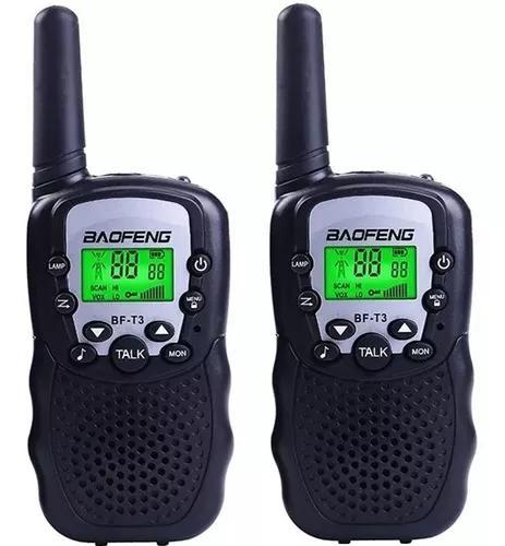 Radio comunicador walk talk baofeng bf t3 alcance 3km