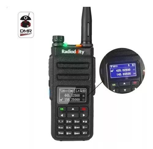 Radio Dmr E Analogico Gd-77 Tier 2 Ouve Freq. Digitais Novo