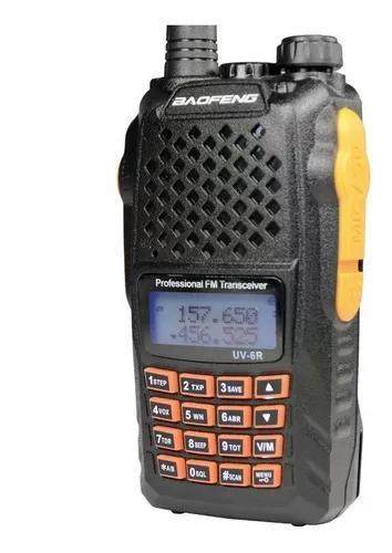 Radio ht baofeng uv-6r somente aparelho reposição peças