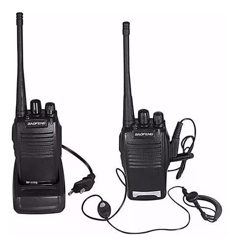 Radio ht comunicador walk talk talkabout baofeng 777s