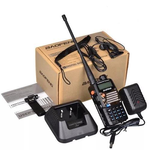 Radio ht dual band(uhf+vhf) baofeng uv-5ra com fone