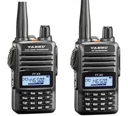 Radio ht ft-4v vhf fm transceicer 1 unidade