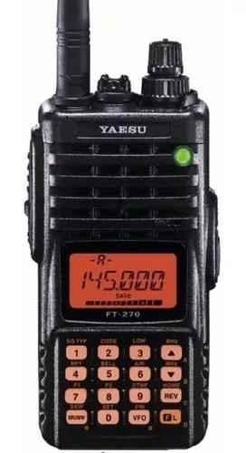Radio ht yaesu ft 270 r/e vhf fm novo na caixa