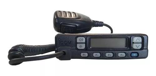 Radio icom vhf ic-f320 c/ microfone ptt - usado - testado