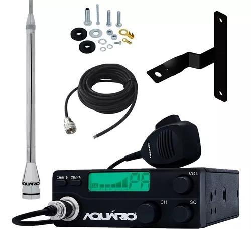Radio Px 40 Canais Rp-40 Antena Marinox 2,70 Metros