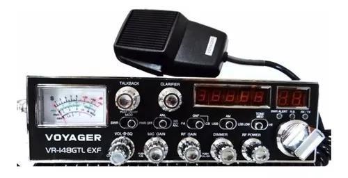Radio px amador voyager vr 148 gtl exf novo