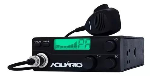 Radio px rp 40 aquario homologado + kit antena 70cm suporte
