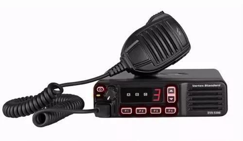 Radio vertex movel/base digital evx5300 lançamento vhf