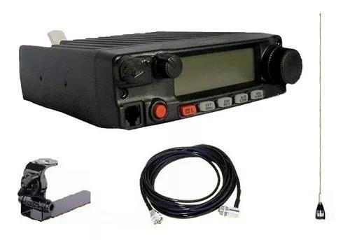 Radio vhf py yaesu 2980r + kit antena pickup caminhonete