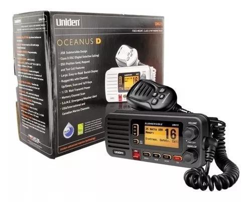 Radio vhf uniden um-415 oceanus d maritmo