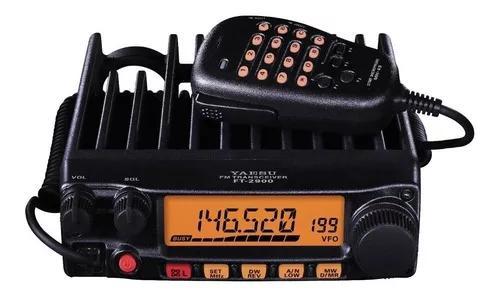 Radio vhf yaesu ft-2980 80w com antena cabo e suporte