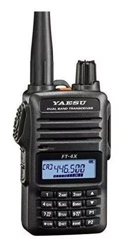 Radio Yaesu Ht Vhf /uhf Ft 4x Duals Band