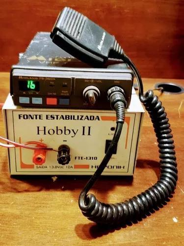 Rádio amador midland marine78-360 +fonte