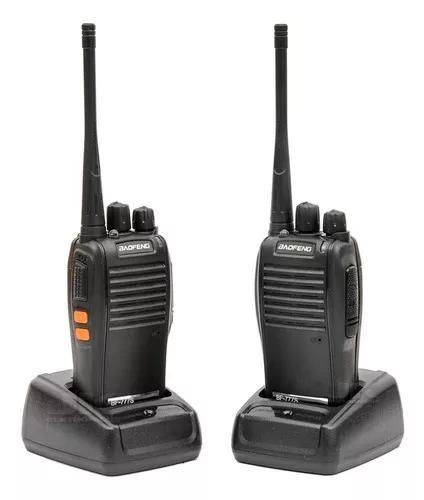 Rádio baofeng 777s comunicador walktalk alcance 12km + fone